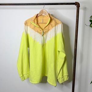 Free People quarter zip pullover